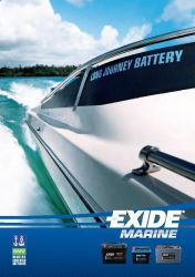 Exide Marine - Start AGM - Dual AGM - Equipment Gel - Exide Vintage